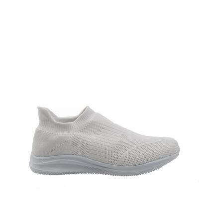 Αθλητική γυναικεία λευκή κάλτσα