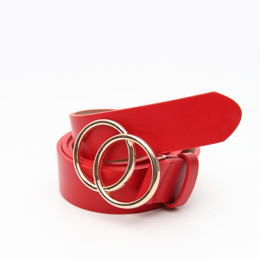 Γυναικεία κόκκινη ζώνη Christy's Axel