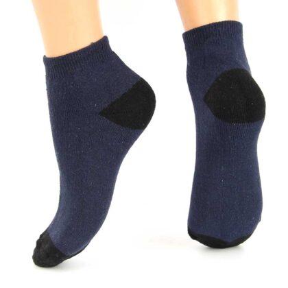 Πετσετέ Βαμβακερές Κάλτσες Μπλέ