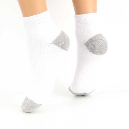 Πετσετέ Βαμβακερές Κάλτσες Λευκές