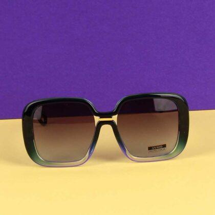 Γυναικεία Γυαλιά Ηλίου Μπλέ με πράσινο