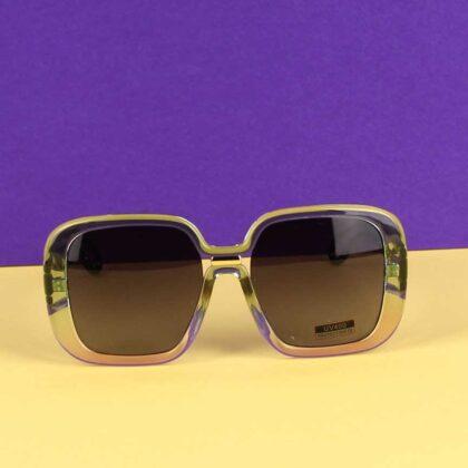 Γυναικεία Γυαλιά Ηλίου Πράσινο με Μώβ