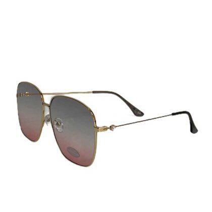Τετράγωνα Γυναικεία Γυαλιά Ηλίου ρόζ-μπέζ