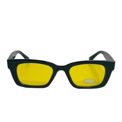 Γυναικεία γυαλιά Fashion μαύρα-κίτρινα.