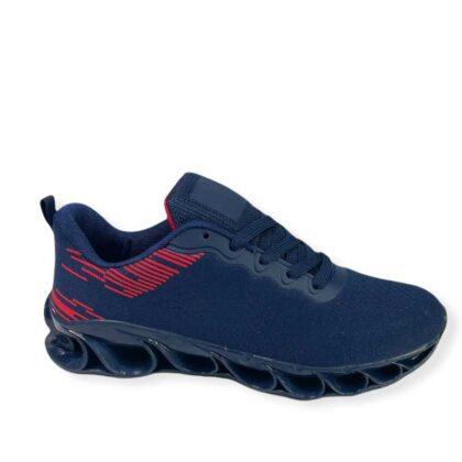 Αθλητικά ανδρικά παπούτσια μπλέ.
