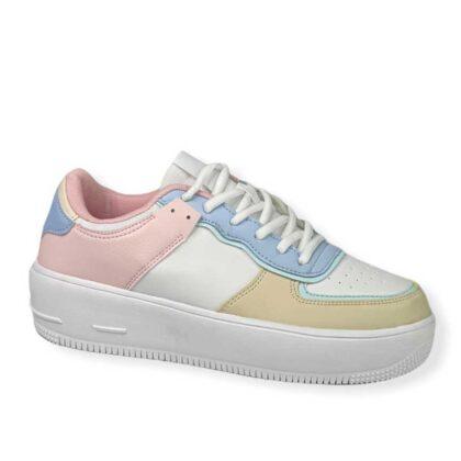 Γυναικείο Sneakers με συνδυασμό χρωμάτων Δίσολο
