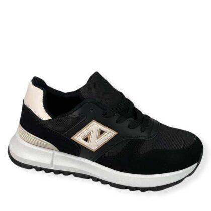 Unisex Αθλητικά παπούτσια μαύρα.