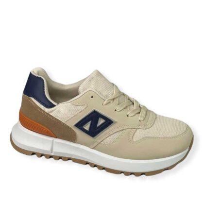 Unisex Αθλητικά παπούτσια μπέζ.