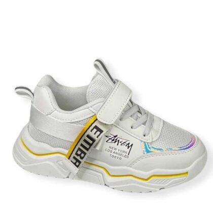 Παιδικά Sneakers Κορίτσι λευκά