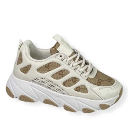 Μπέζ Sneakers Κορίτσι Νο 28-35