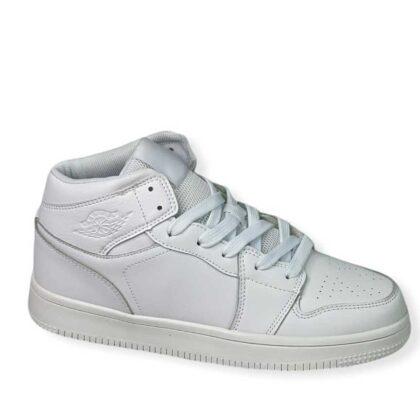 Sneakers μποτάκι Unisex λευκό