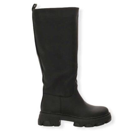 Μπότες με Τρακτερωτή Σόλα Μαύρες.