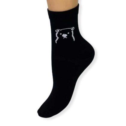 Unisex Κάλτσες με σχέδιο μαύρες