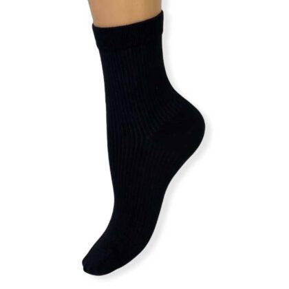 Unisex Κάλτσες Βαμβακερές μαύρες