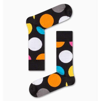 Κάλτσες Ανδρικές Vtex Μαύρες με πολύχρωμους κύκλους