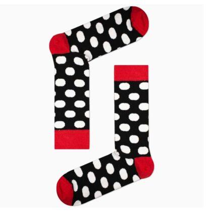 Κάλτσες Ανδρικές Vtex Πουά μαύρο-λευκό