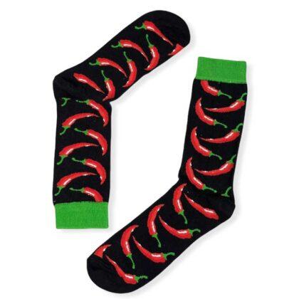 Ανδρικές Κάλτσες Vtex με σχέδιο Hot Chili