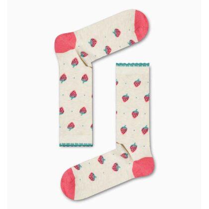 Κάλτσες Γυναικείες με φράουλες χωρίς ραφές