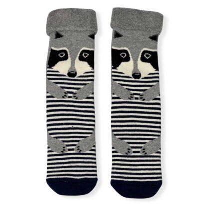Ζεστές Γυναικείες Κάλτσες με σχέδια γκρί