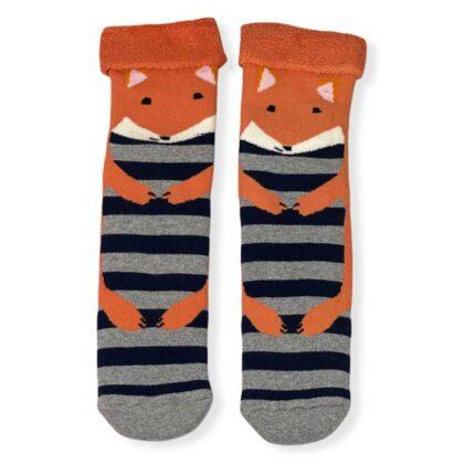 Ζεστές Γυναικείες Κάλτσες με σχέδια πορτοκαλί